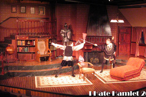 The Nicolet Players performing I Hate Hamlet