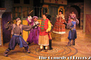 The Nicolet Players performing The Comedy of Errors