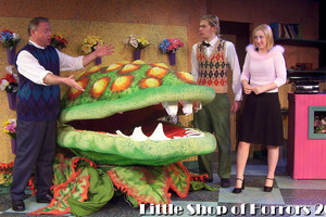 The Nicolet Players performing Little Shop of Horrors