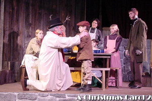 The Nicolet Players performing A Christmas Carol