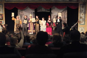 The Nicolet Players performing Edwin Drood