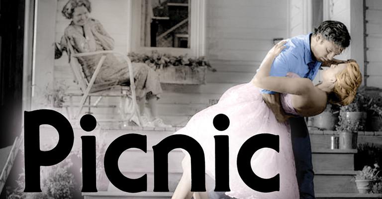 Picnic play illustration