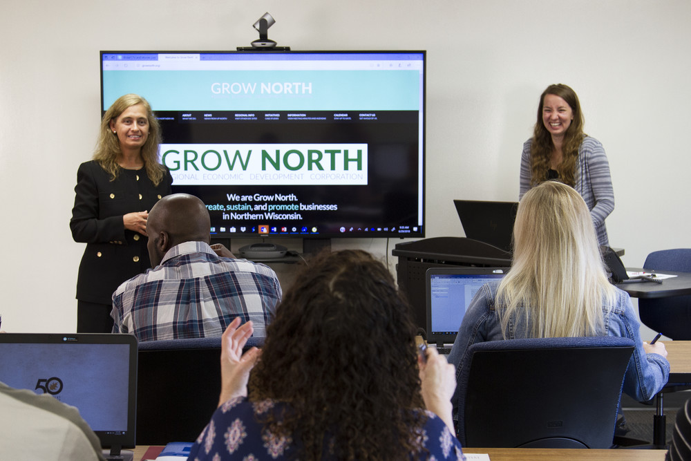 Grow North meeting