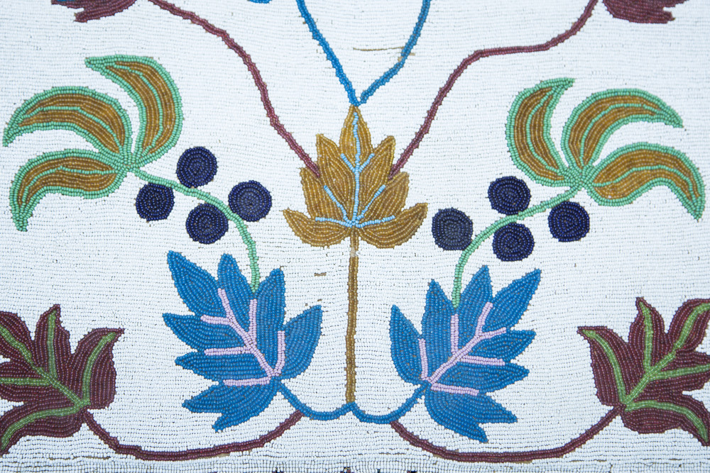 Hand-beaded regalia