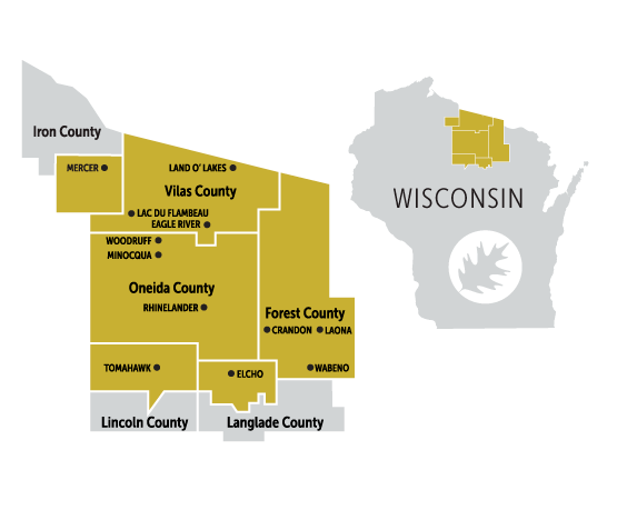 District Map of Nicolet College