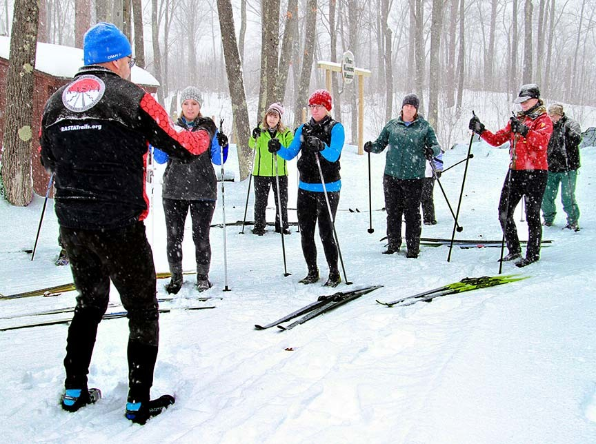 cross country ski group