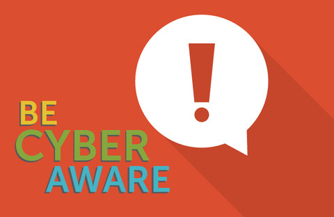 Be Cyber Aware graphic