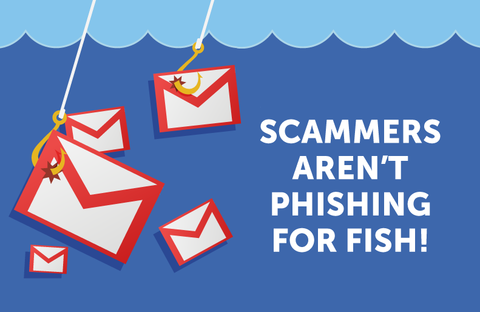 Phishing for Fish Logo