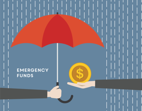 emergency funds graphic
