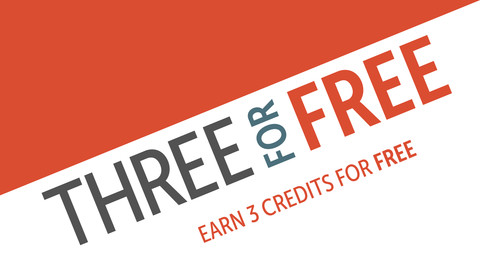 Three for Free graphic